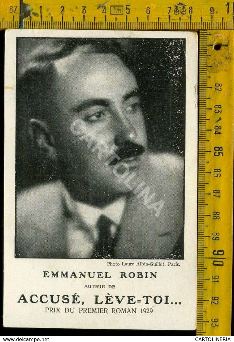 Personaggio Attore Attrice Cantante Musica Teatro Danza Cinema Francia Emmanuel Robin - Artisti