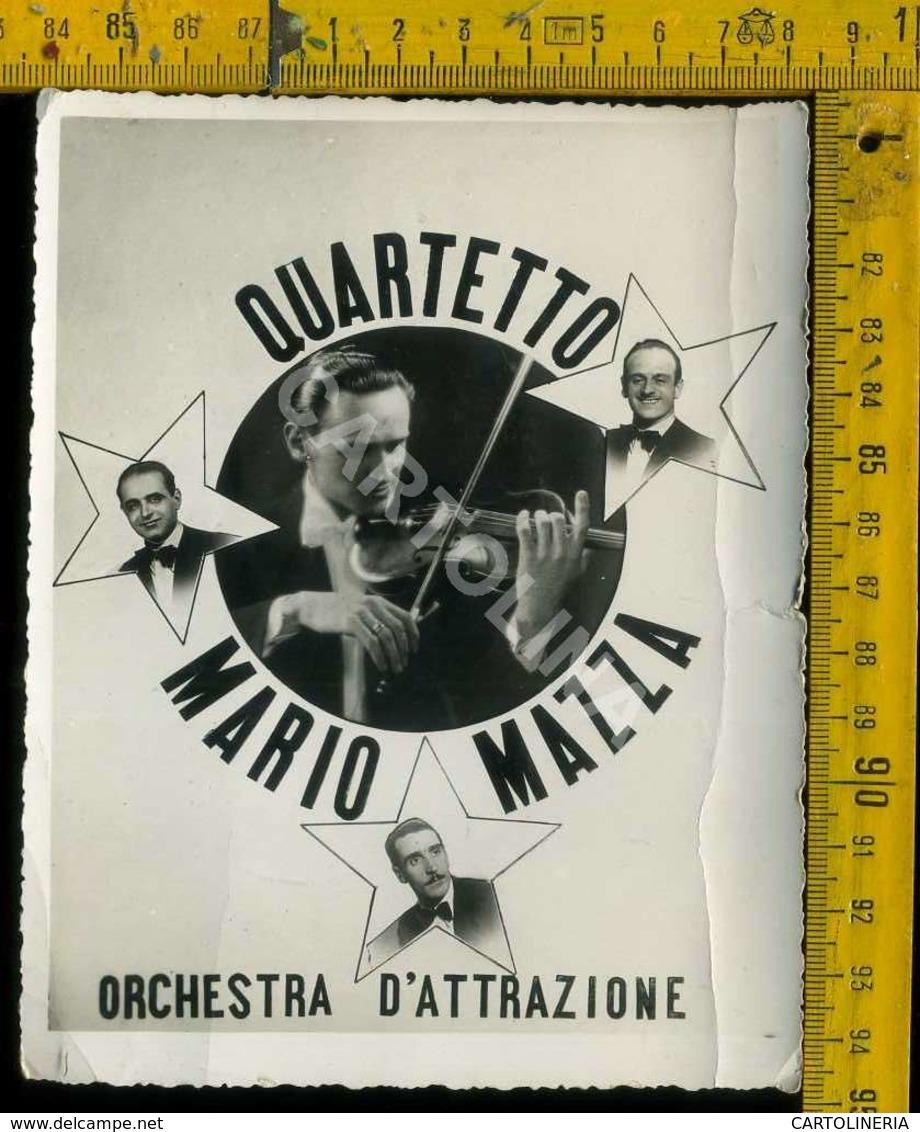 Personaggio Attore Attrice Cantante Musica Teatro Danza Cinema Quartetto Mario Mazza - Artisti