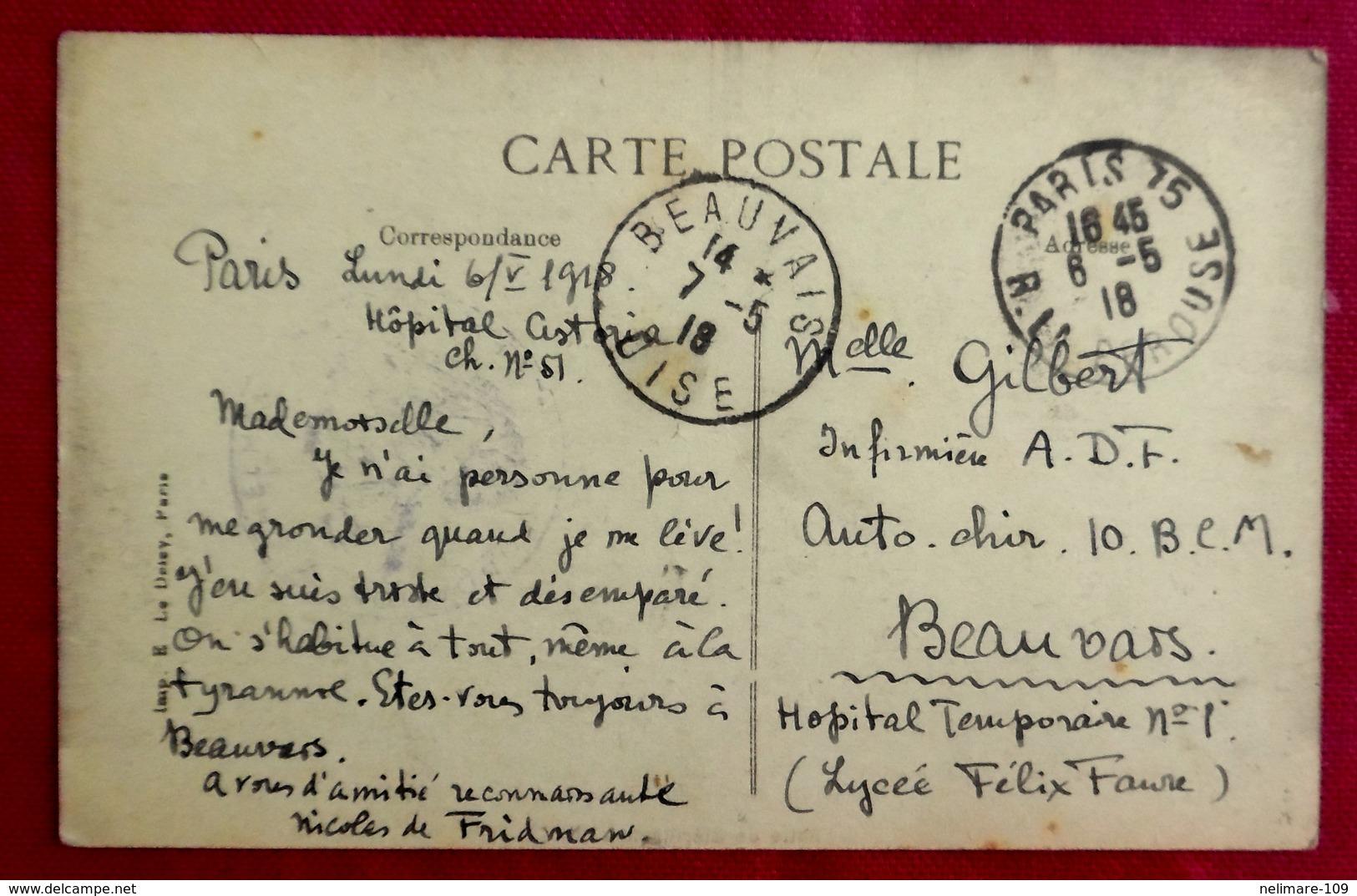 670 CPA MILITARIA GUERRE 14-18 CROIX ROUGE BRITANNIQUE ORDRE DE SAINT JEAN FONDATION MICHELHAM HOPITAL - Guerre 1914-18