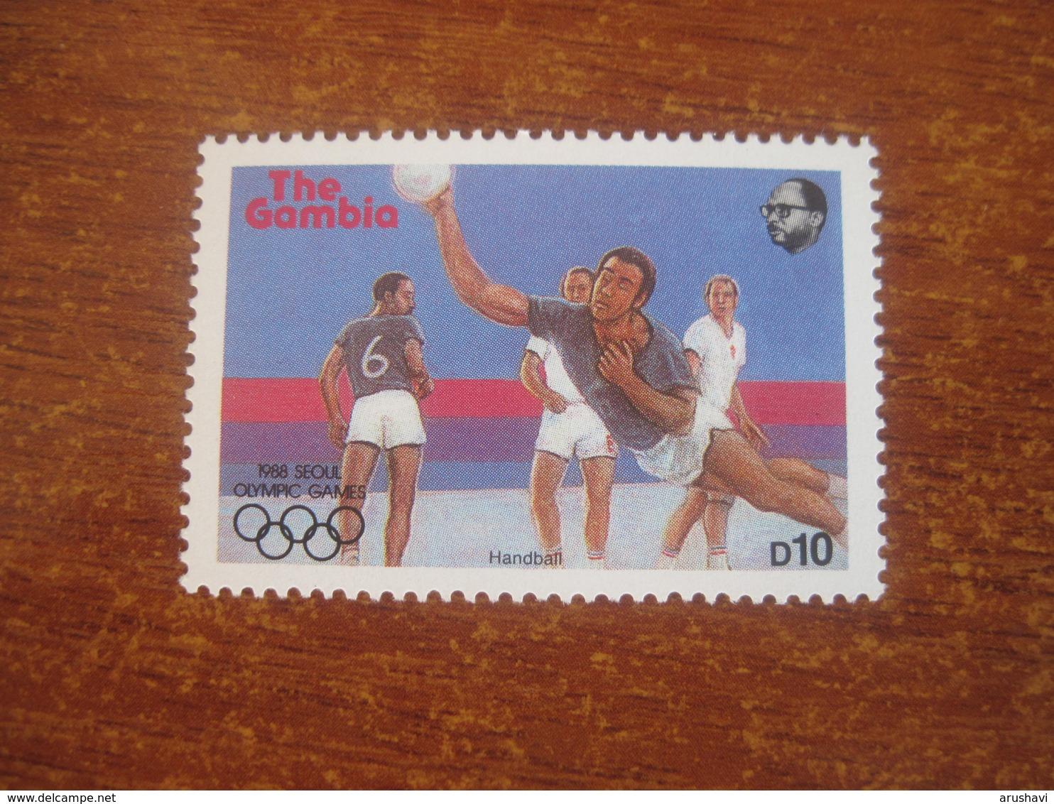 Gambia 1987 Olympics In Seoul  Handballl  MNH - Balonmano