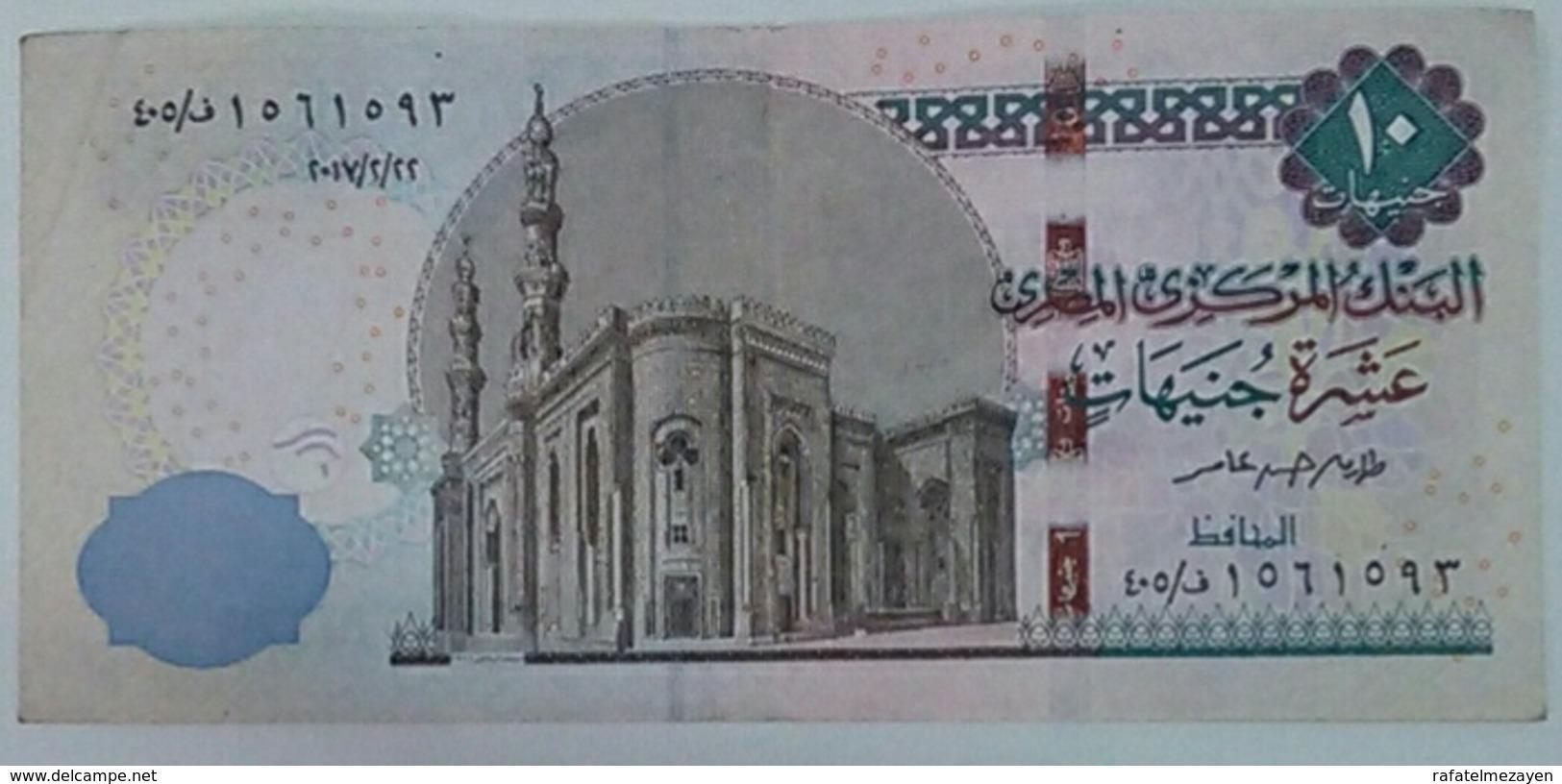 Egypt 10 Pounds 2017 - Egypte