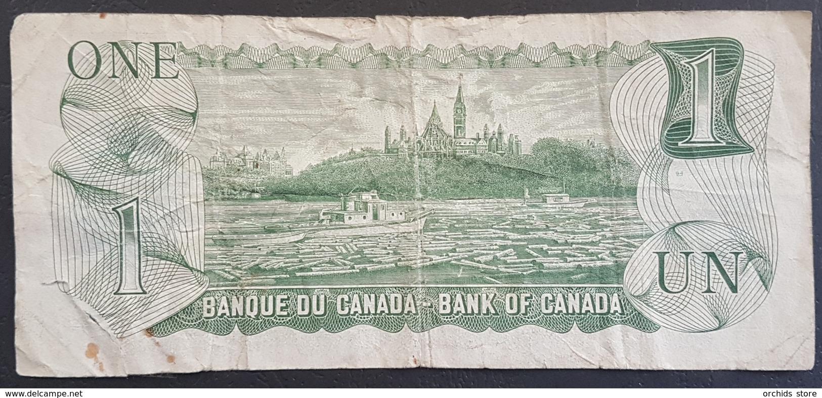 EBN6 - Canada 1973 Banknote 1 Dollar Pick 85c - Canada