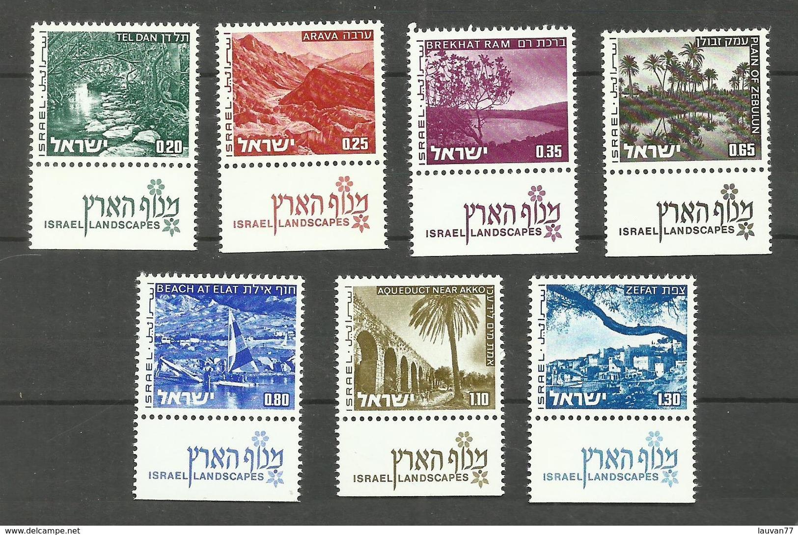 Israël N°532 à 538 Neufs** Cote 4 Euros - Israel