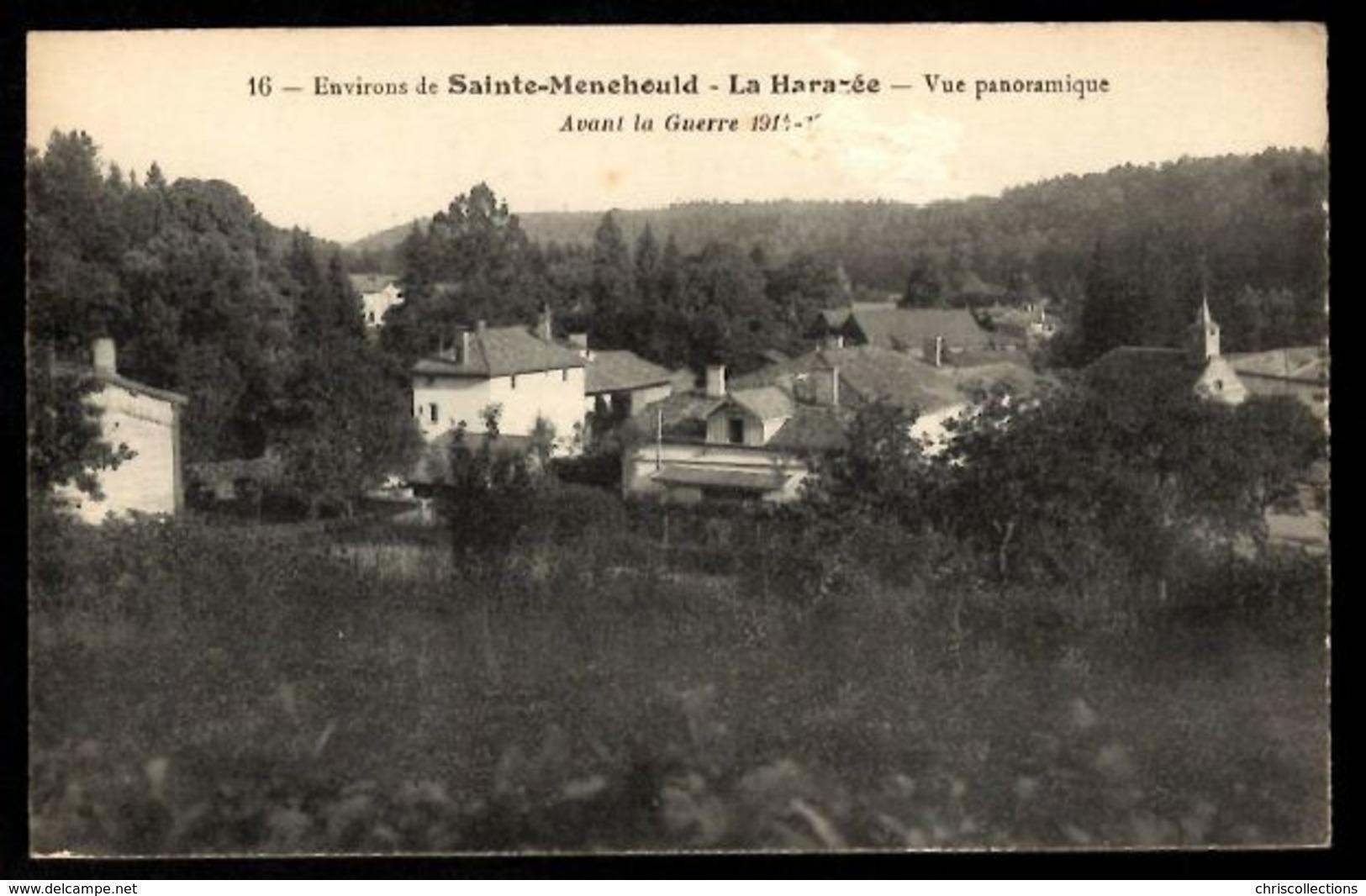 51 LA HARAZEE - Vue Panoramique - Environs De Sainte Ménéhould - Other Municipalities