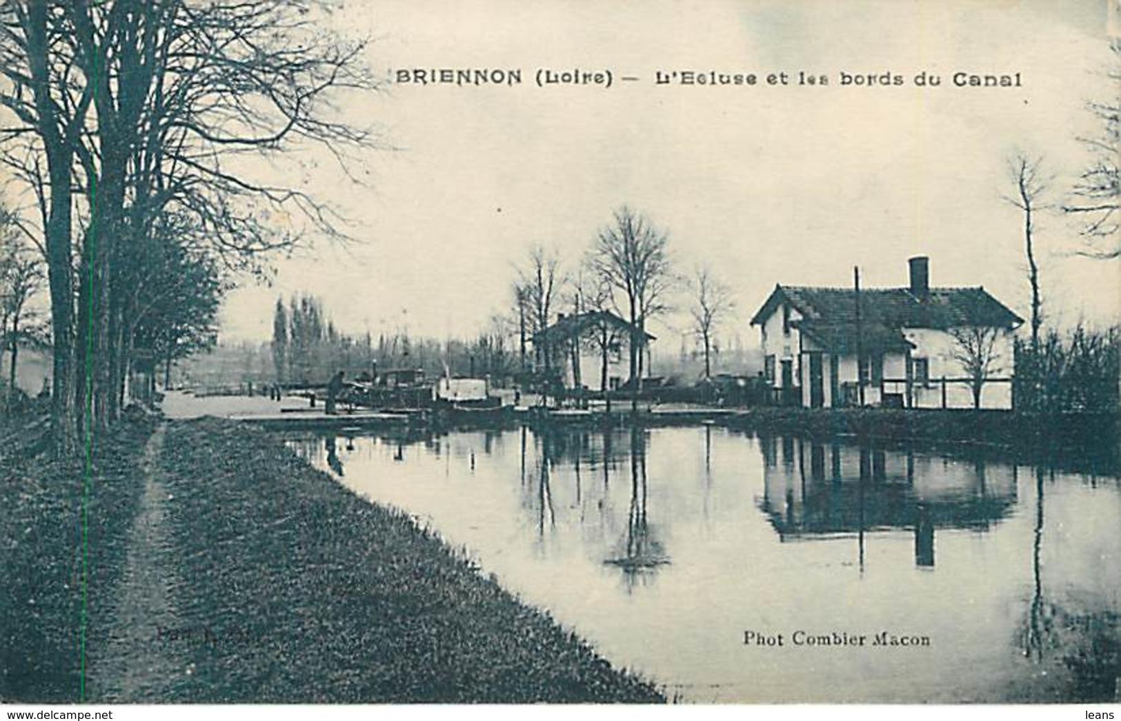 BRIENNON - L'écluse Et Les Bords Du Canal - Otros Municipios