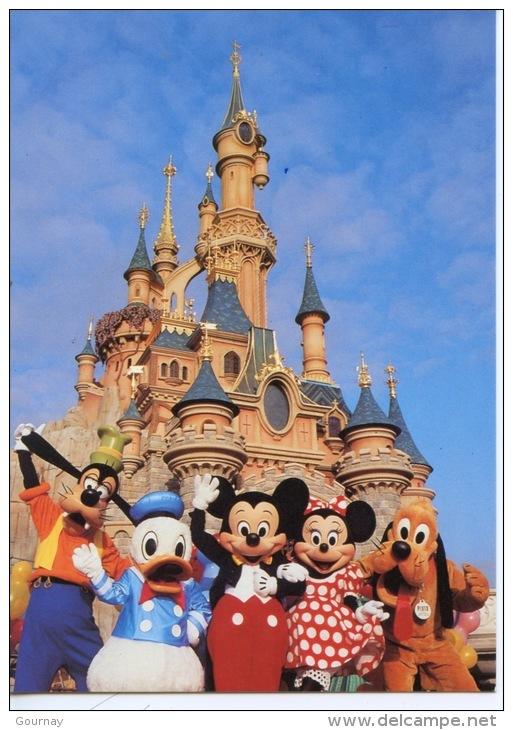 Marne La Vallée : Euro Disney (1994) Puis Disneyland Paris : Le Château De La Belle Au Bois Dormant N°107 Mickey - Disneyland