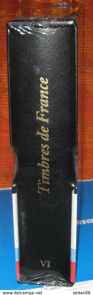 """YVERT Et TELLIER - RELIURE + ETUI FUTURA TITREE """"Timbres De FRANCE"""" N°VI (REF. 26764) - Albums & Reliures"""