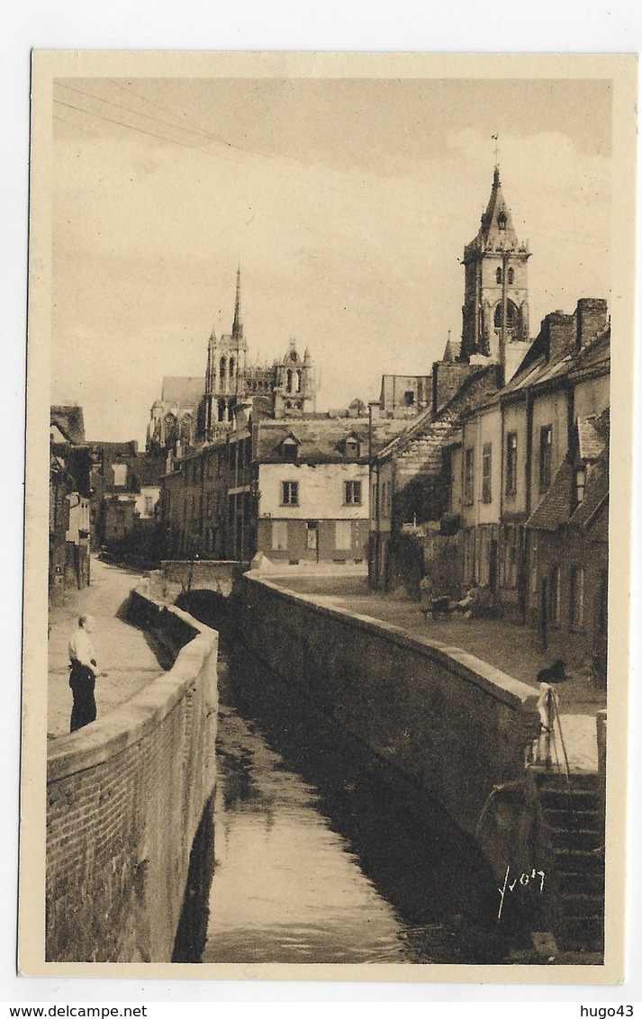 AMIENS - N° 8 - LA RUE BASSE DES TANNEURS - FORMAT CPA NON VOYAGEE - Amiens