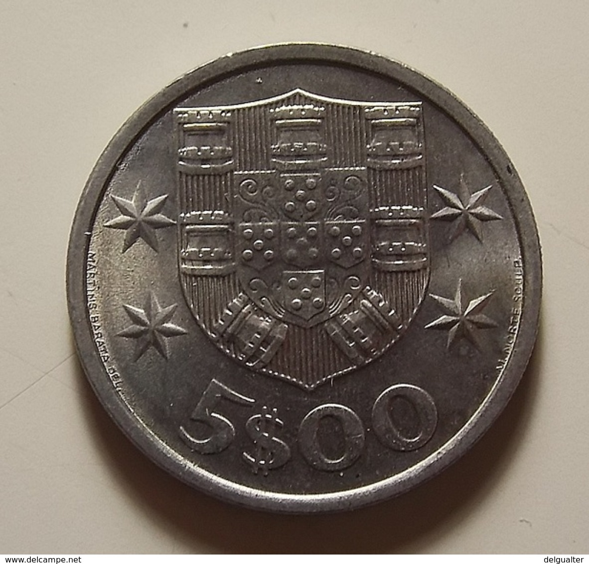 Portugal 5 Escudos 1974 - Portugal