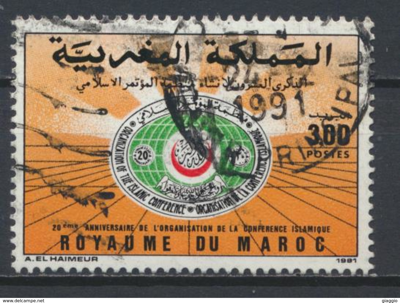 °°° MAROC - Y&T N°1114 - 1991 °°° - Marruecos (1956-...)