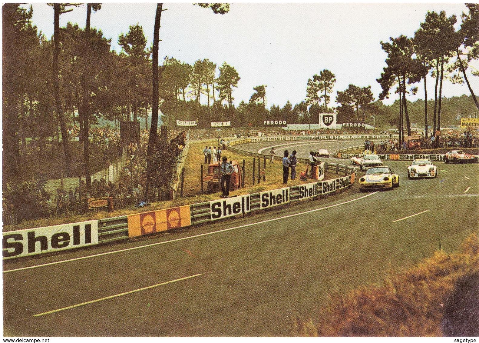 72 . LE MANS . CIRCUIT DES 24 HEURES . Voitures En Course  - ARTAUD 3 (E/5708) - Le Mans