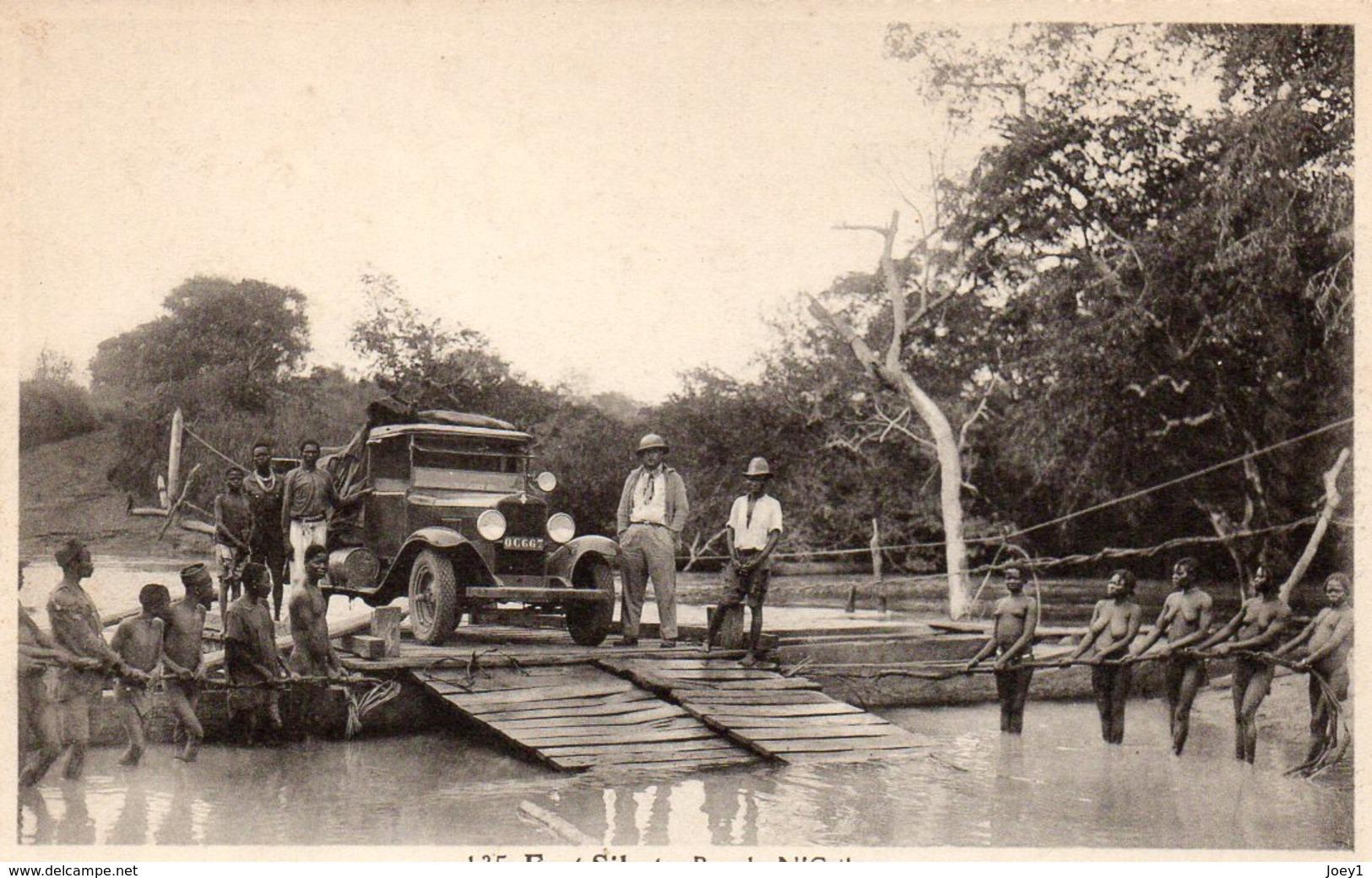 Cpa Fort Sibut Bac Du N'Griko - Centrafricaine (République)