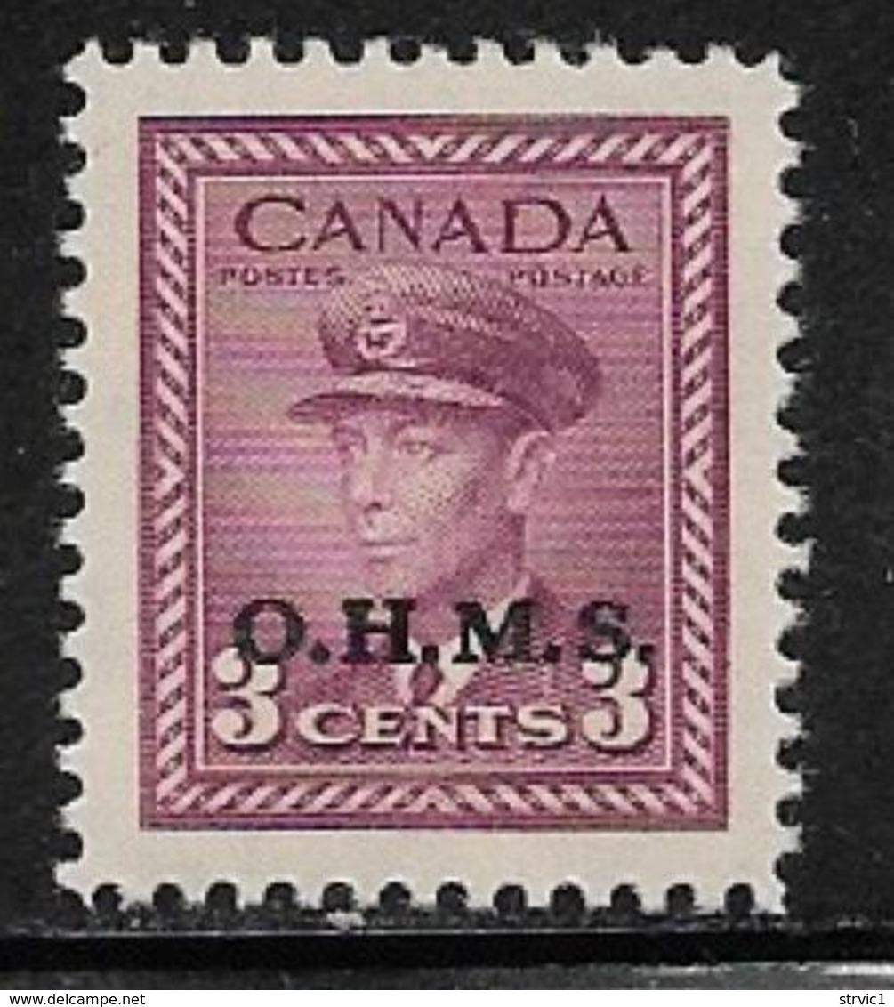 Canada Scott # O3 MNH King George Vl Stamp Overprinted, 1949-50 - Officials