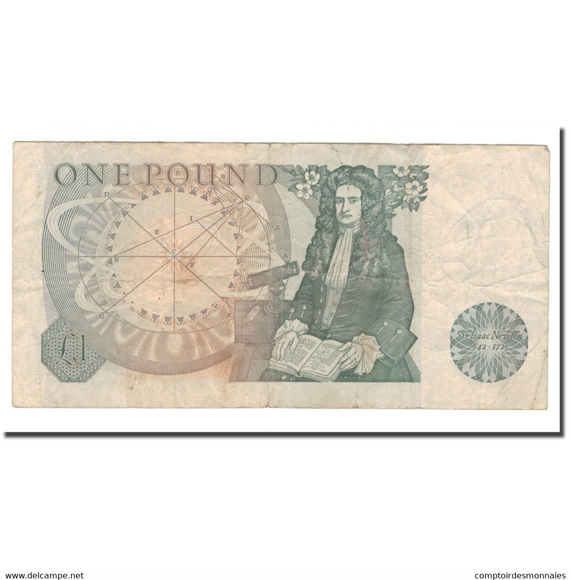 Billet, Grande-Bretagne, 1 Pound, Undated (1978-84), KM:377a, TB - 1952-… : Elizabeth II