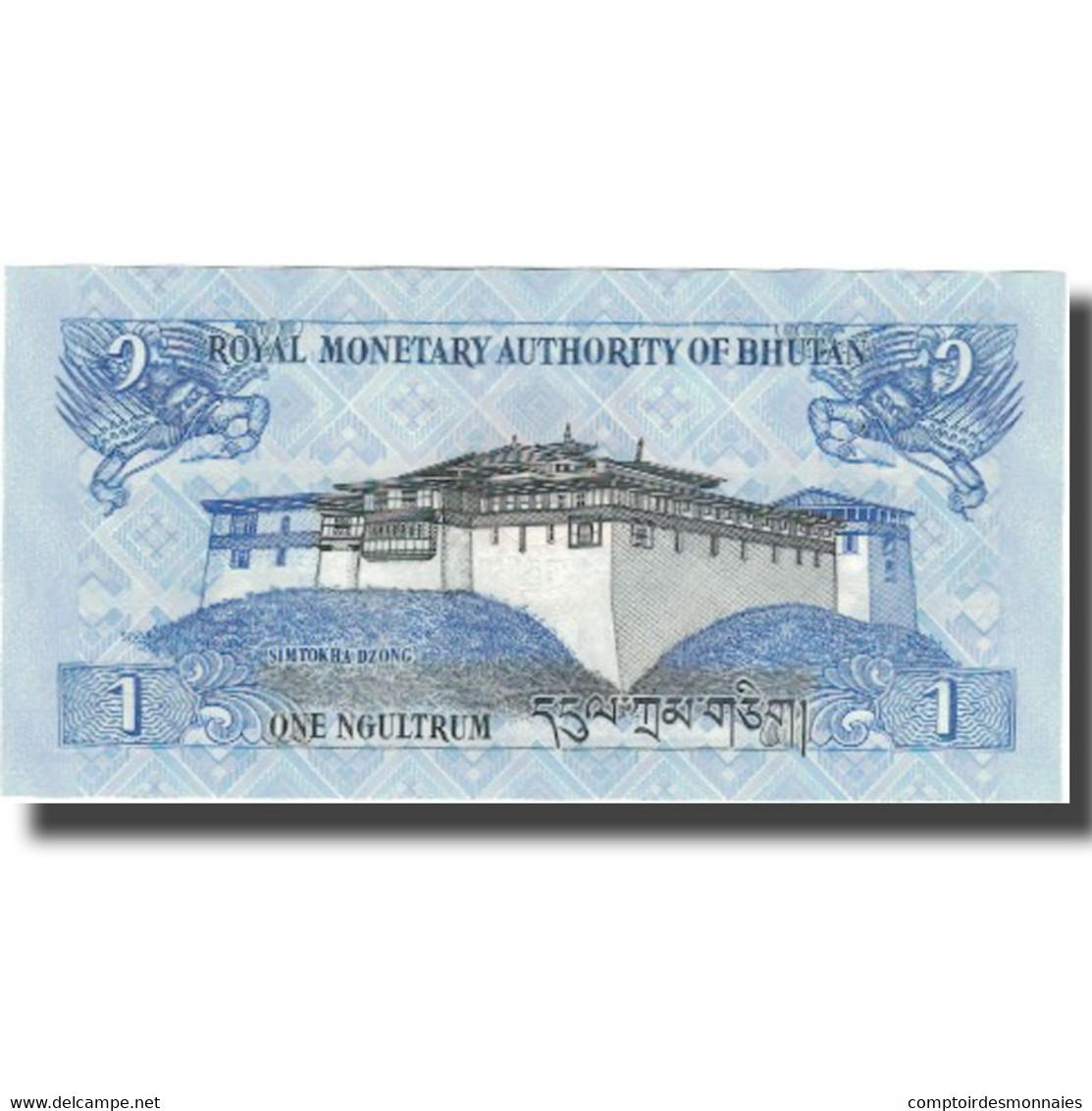 Billet, Bhoutan, 1 Ngultrum, 2013, 2013, KM:27, NEUF - Bhoutan
