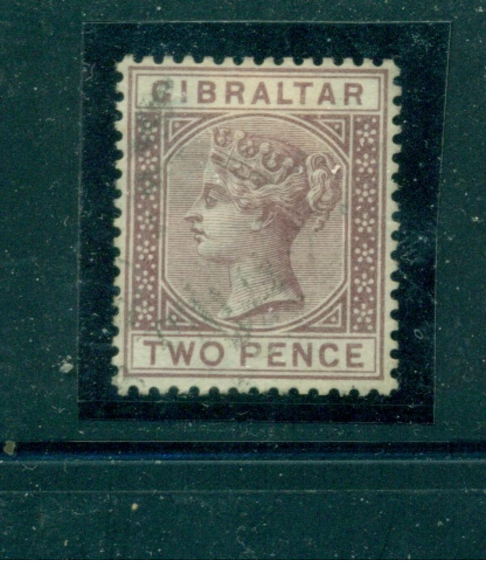 Gibraltar, Königin Victoria, Nr. 10 Gestempelt - Gibraltar