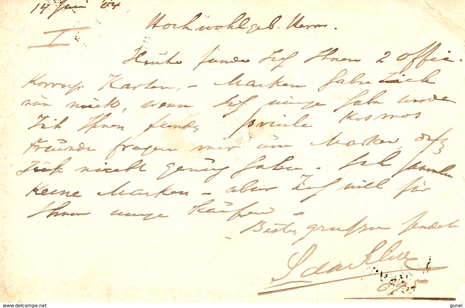 14 6 1904 Briefkaart Van Paramaribo  Met Routestempel SURINAME VIA PLYMOUTH Naar Ujvidek Hongarije - Suriname ... - 1975