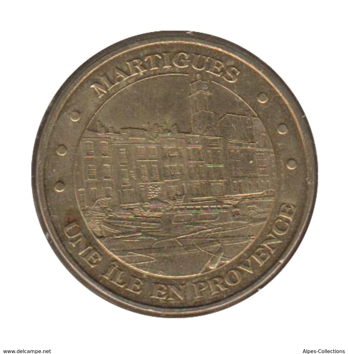 0042 - MEDAILLE TOURISTIQUE MONNAIE DE PARIS 13 - Ile En Provence - 2010 - Monnaie De Paris
