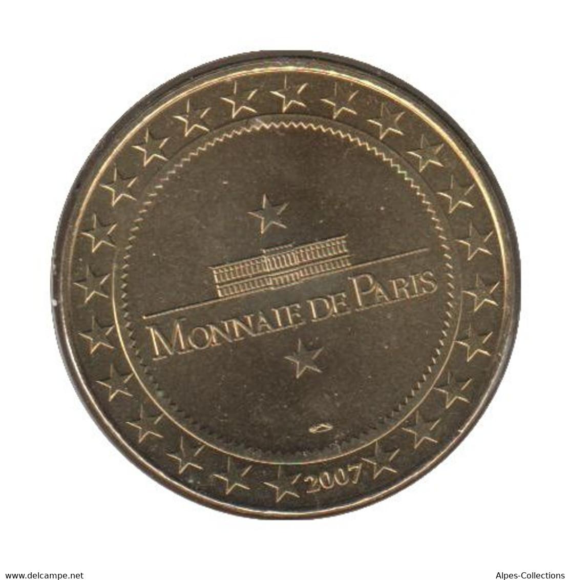 0048 - MEDAILLE TOURISTIQUE MONNAIE DE PARIS 15 - Chaudes Aigues - 2007 - Monnaie De Paris
