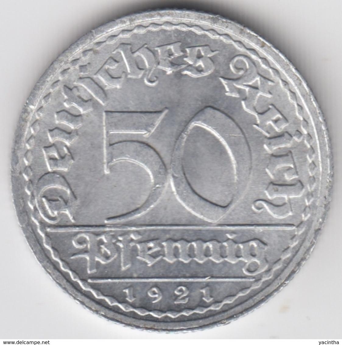 @Y@    Duitsland   50 Pfennig  19241   A  (D18) - 50 Pfennig