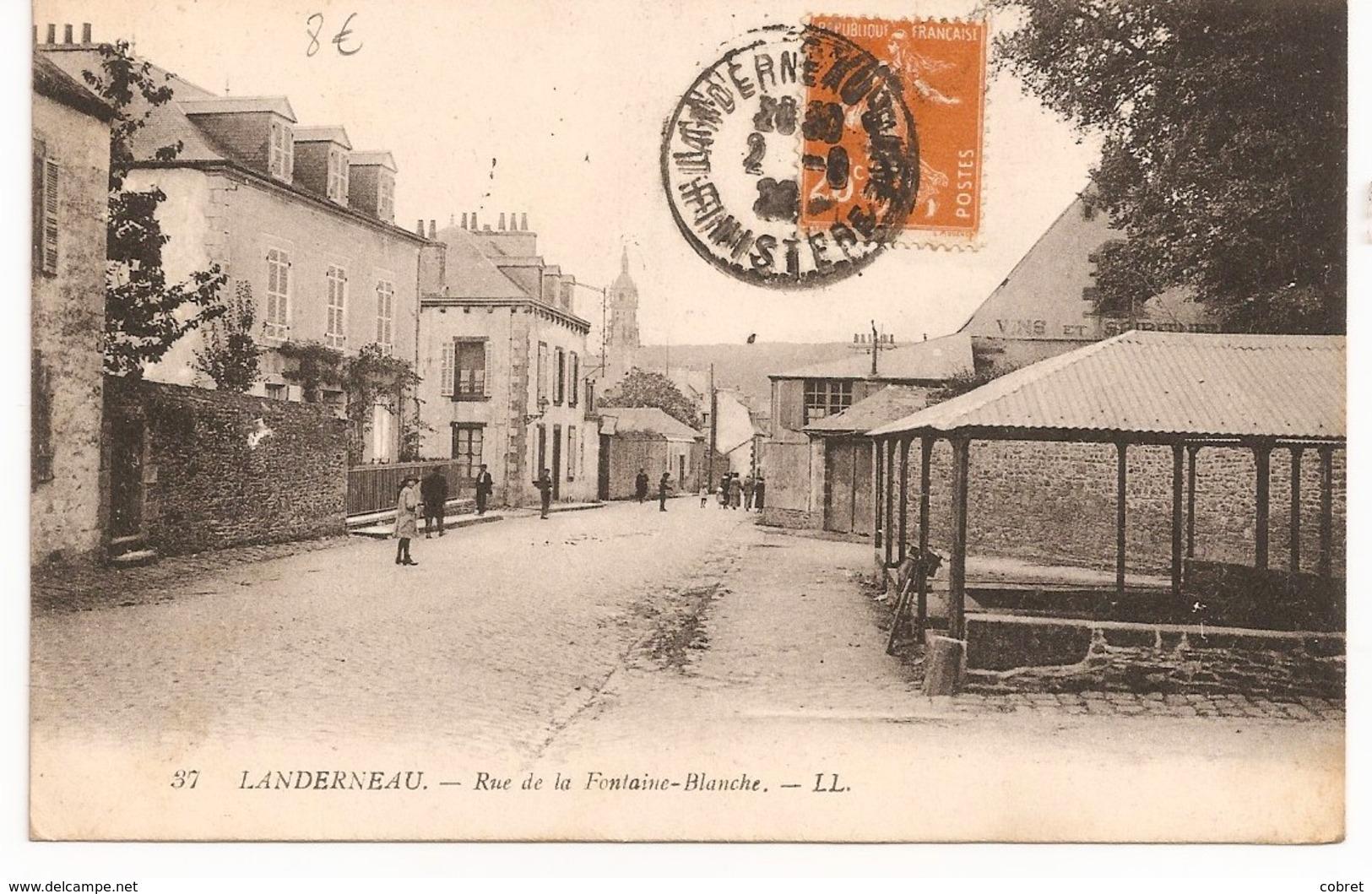 LANDERNEAU - Rue De La Fontaine-Blanche - Landerneau