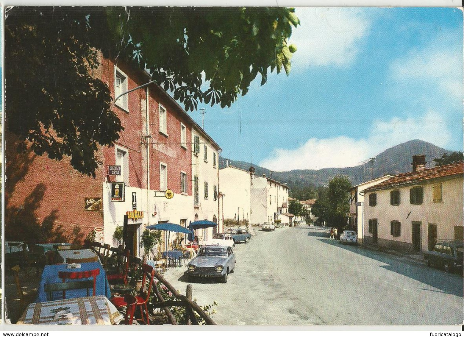 LA TRAVERSA (FIORENZUOLA-FIRENZE) BAR TABACCHI RISTORANTE -STRADA BOLOGNESE  -FG - Firenze