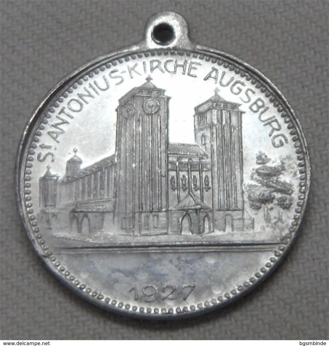 Papst Pius Xl - 1927 - Religiöse Medaille Mit Öse - Jetons & Médailles