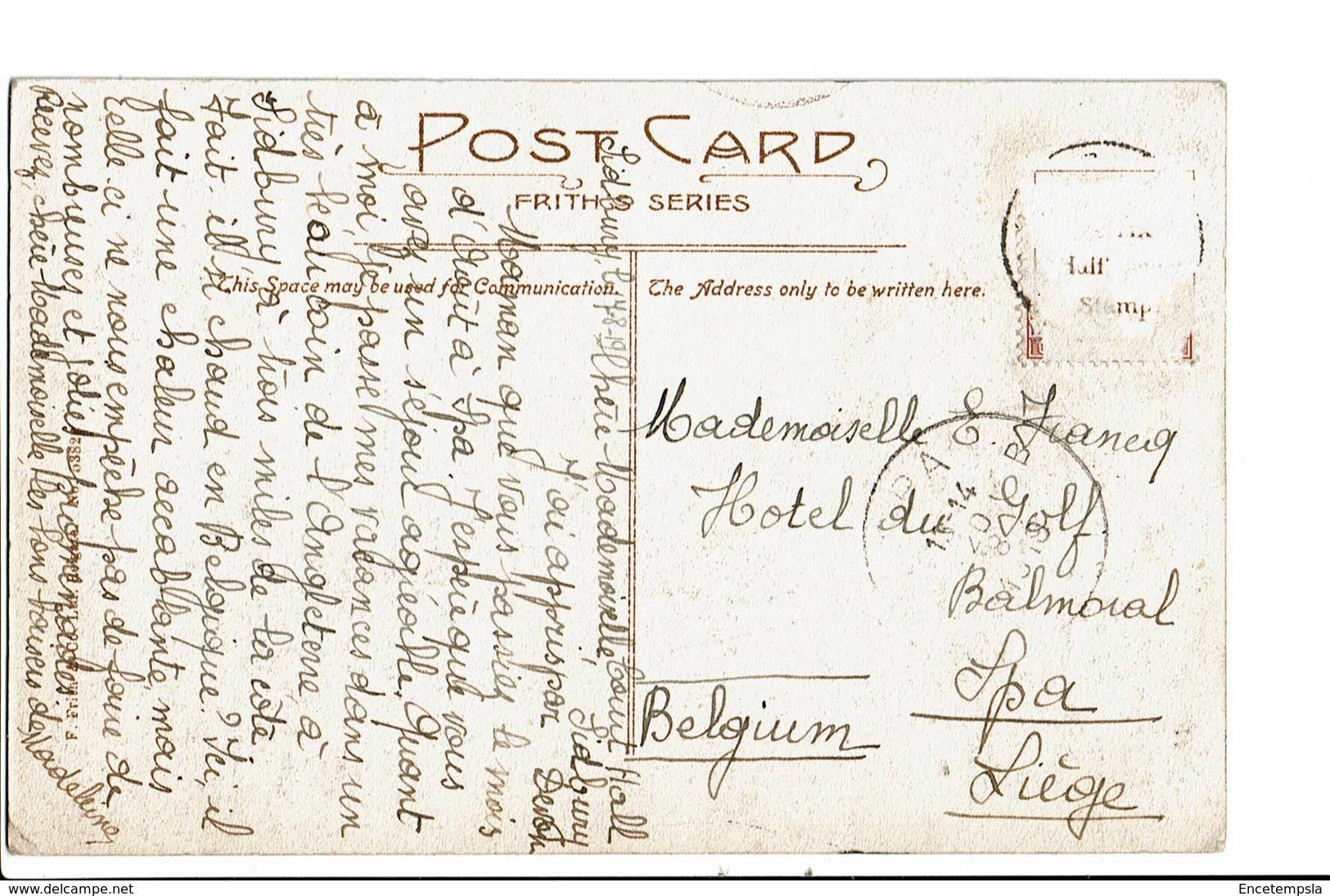 CPA - Carte Postale- Royaume Uni-Devon-Sidbury -Village-1919 -S5030 - England