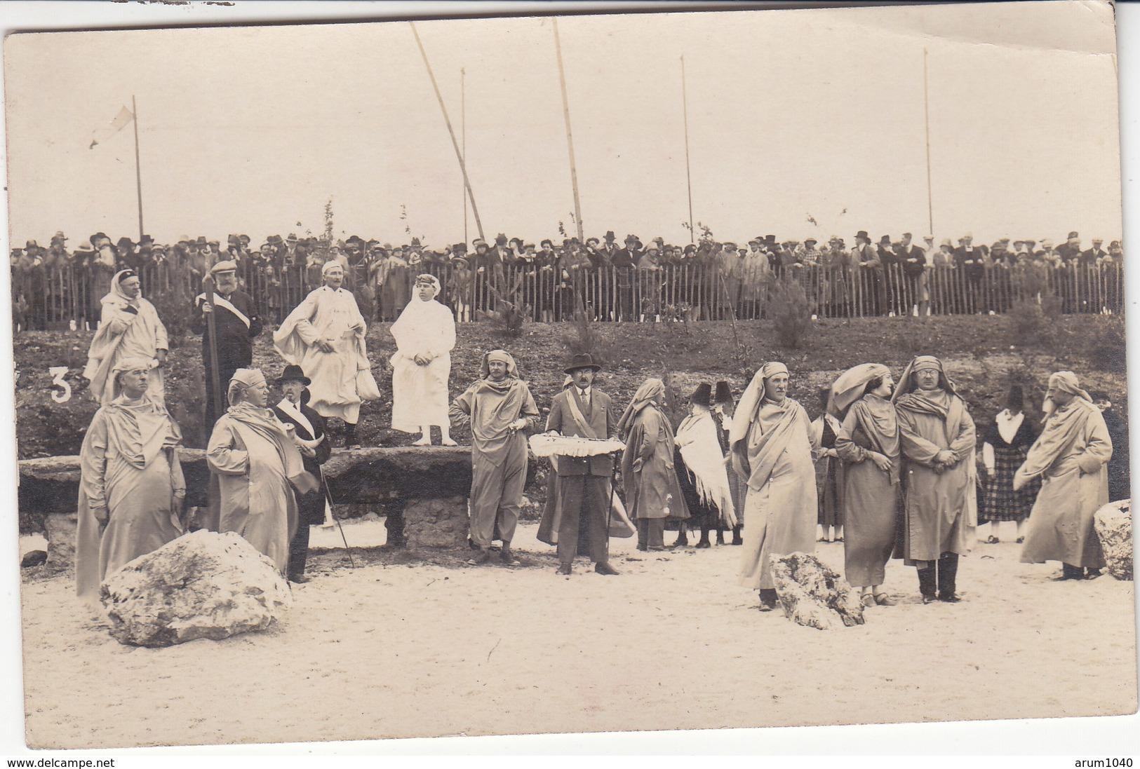 RIEC Sur BELON : Gorsedd Des Bardes 1926 - Superbe Carte Photo - France