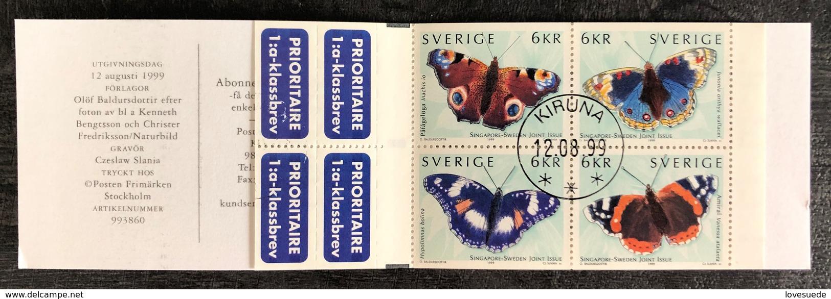Suède Carnet Oblitéré 1999 - Suède