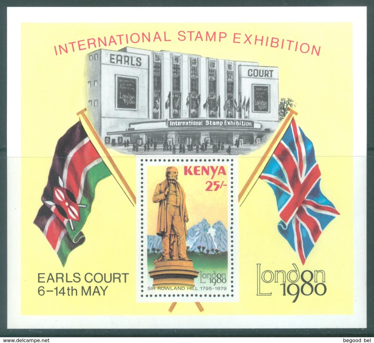 KENYA -  MNH/*** - 1980 - SIR ROWLAND HILL STAMP EXHIBITION  - LONDON 1980- Yv  BLOC 13  -  Lot 18892 - Kenya (1963-...)