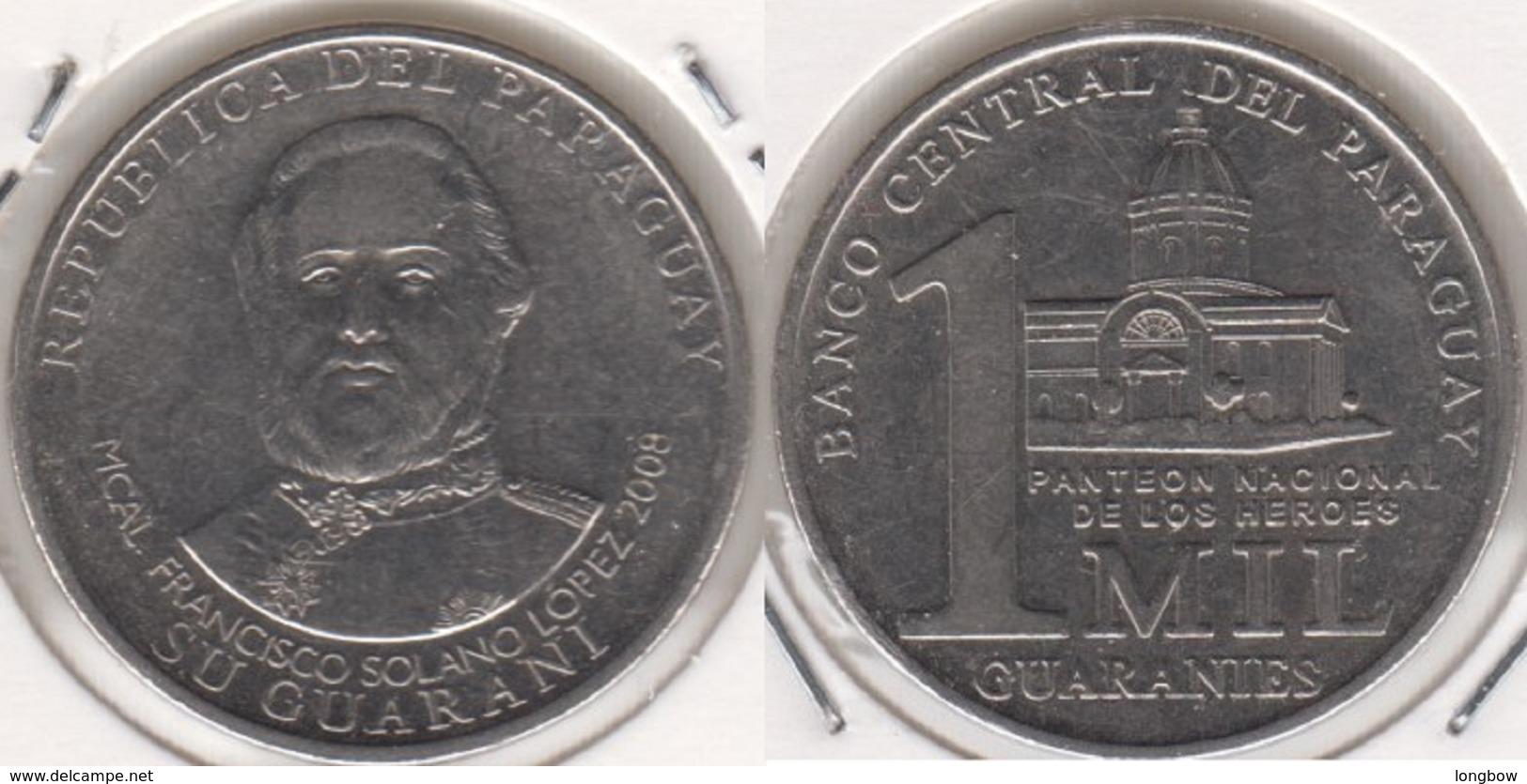 Paraguay 1000 Guaranies 2008 KM#198 - Used - Paraguay