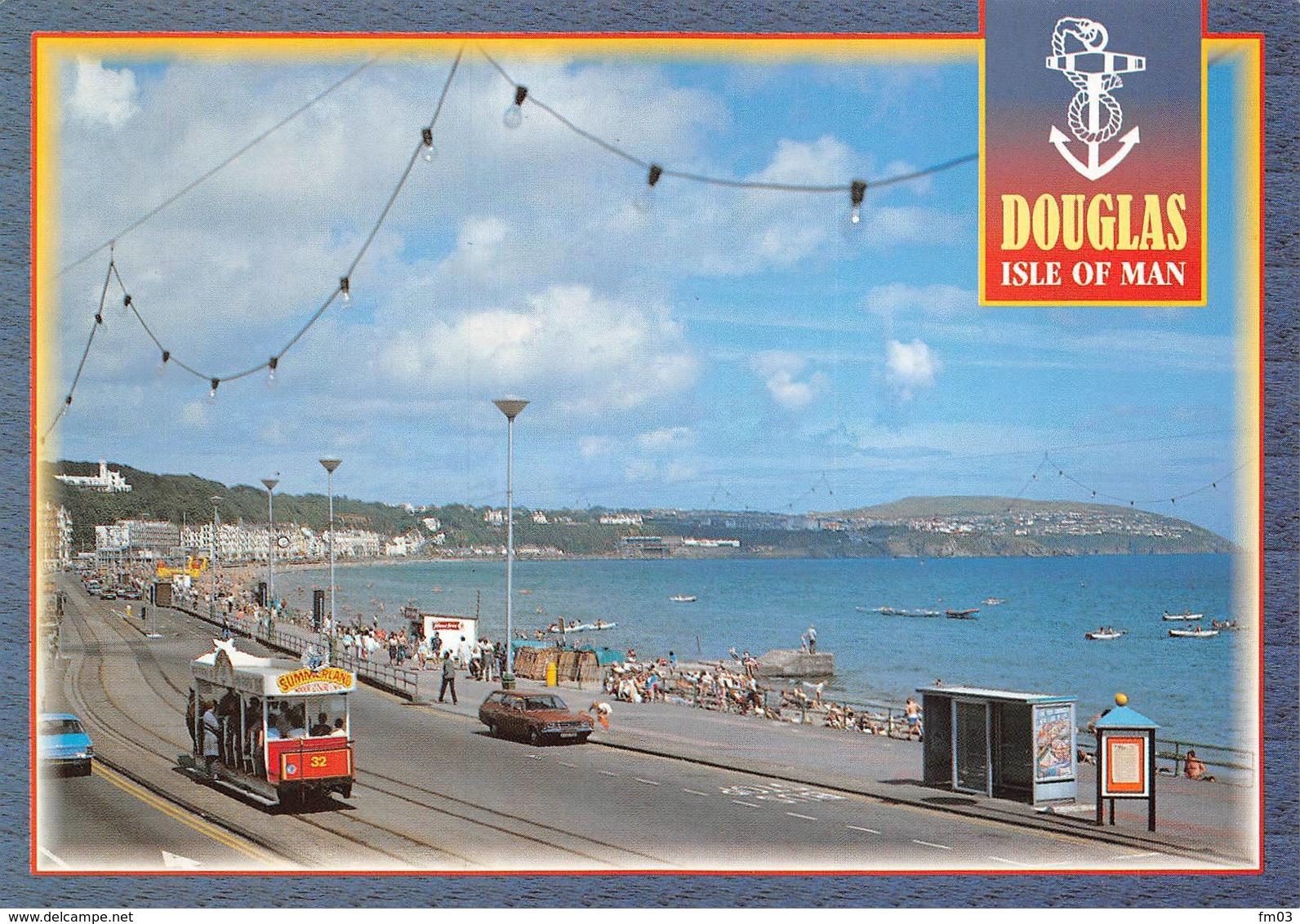 Douglas Tram Tramway Attelage Cheval - Isle Of Man