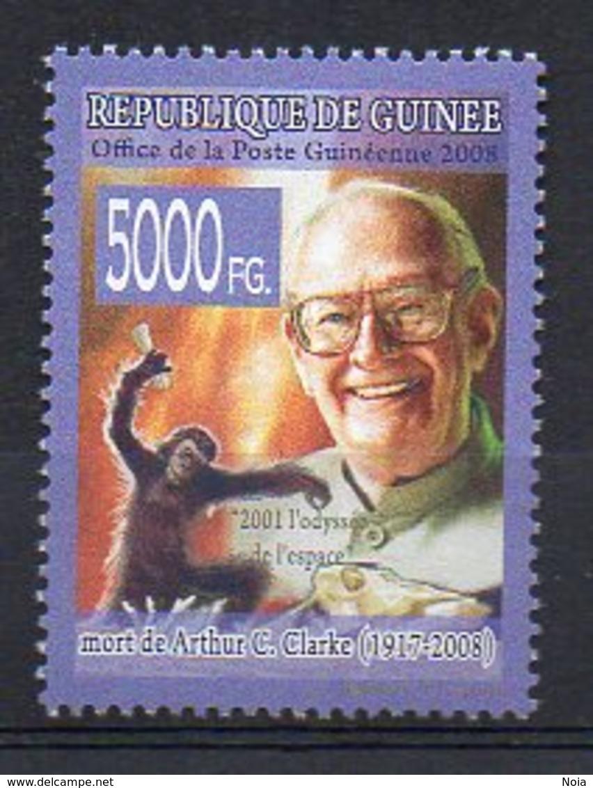 GUINEA BISSAU. ARTHUR C. CLARKE. MNH (2R2743) - Writers