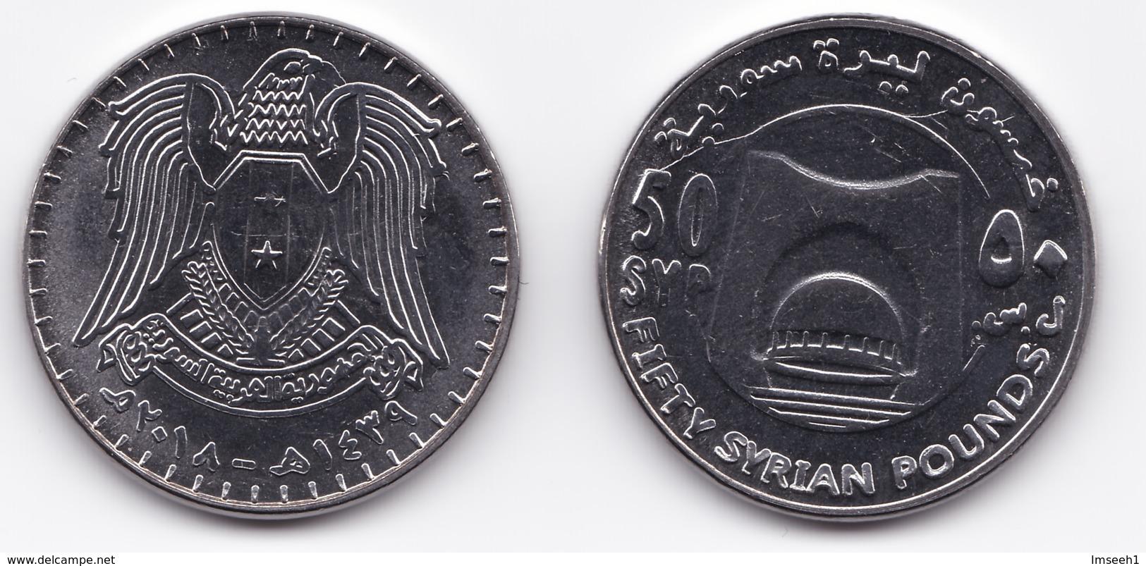 Syria,50 Pound 2018 UNC - Syrie