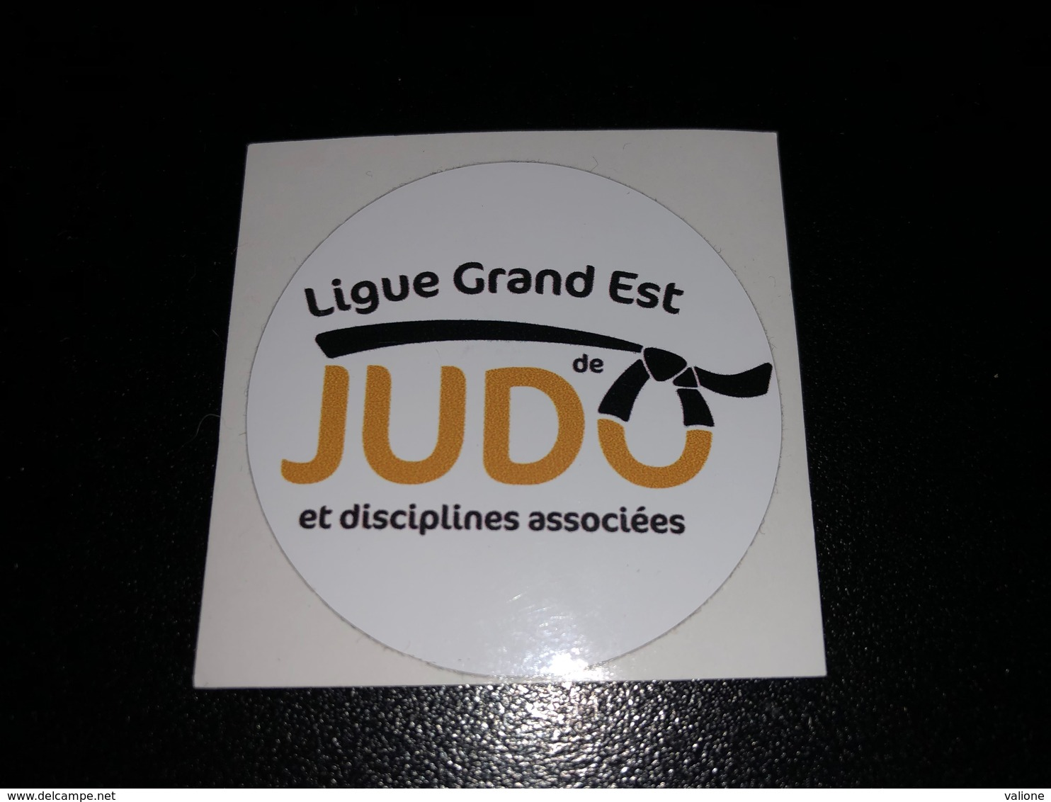 Autocollant Ligue Grand Est De JUDO - Sports De Combat