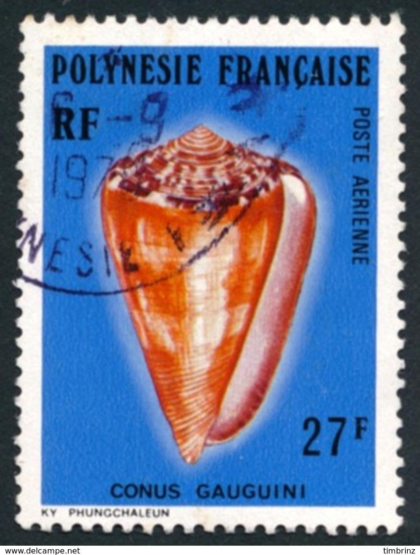 POLYNESIE 1977 - Yv. PA 115 Obl.  - Coquillages : Conus Gauguini  ..Réf.POL23482 - Oblitérés