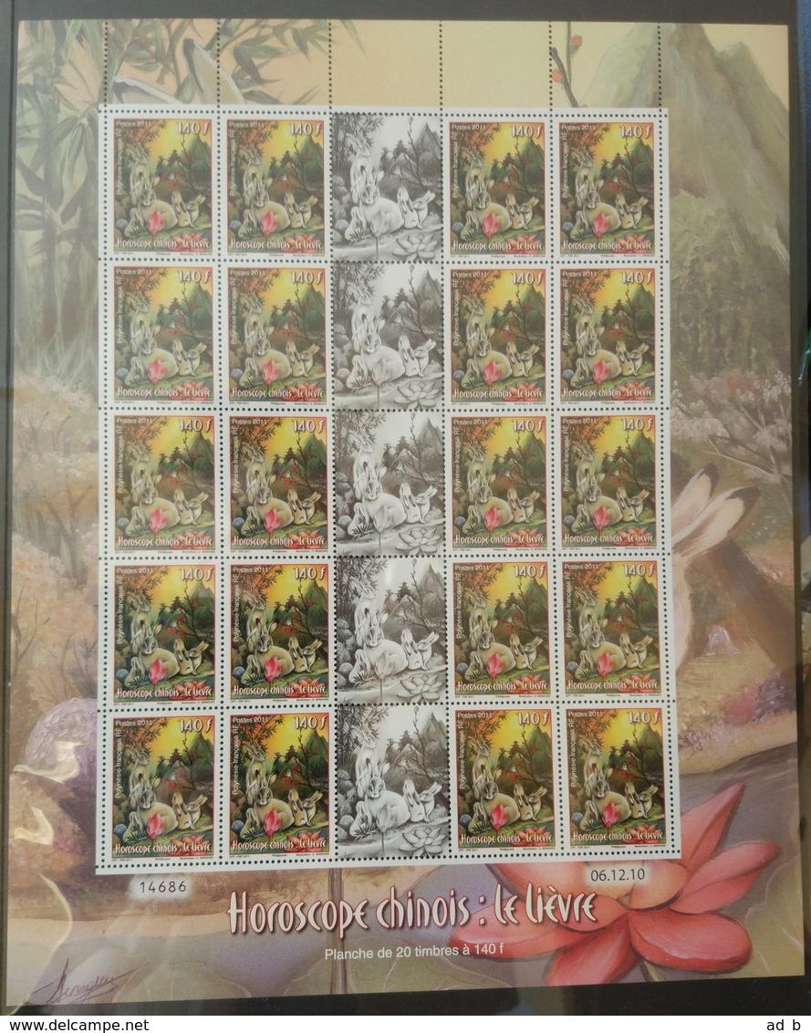Chinese Calendar - Rabbit. Sheet - Nuovi