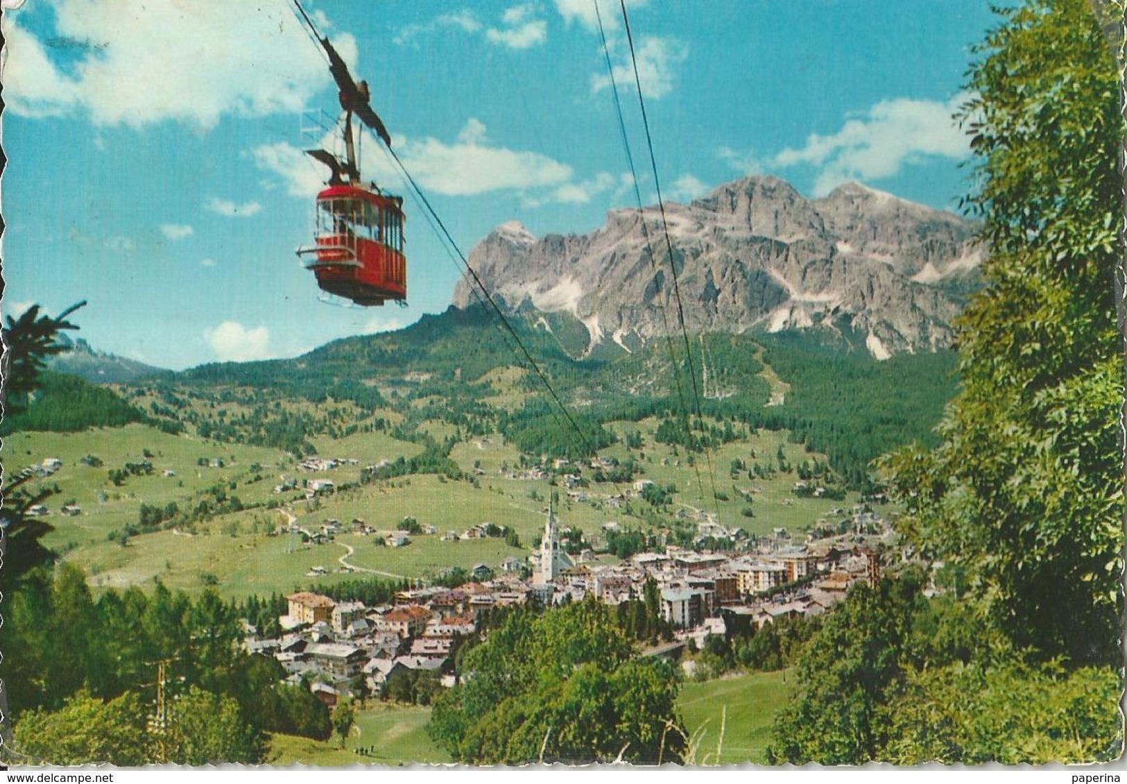 CORTINA FUNIVIA CORTINA - FALORIA (217) - Cartoline