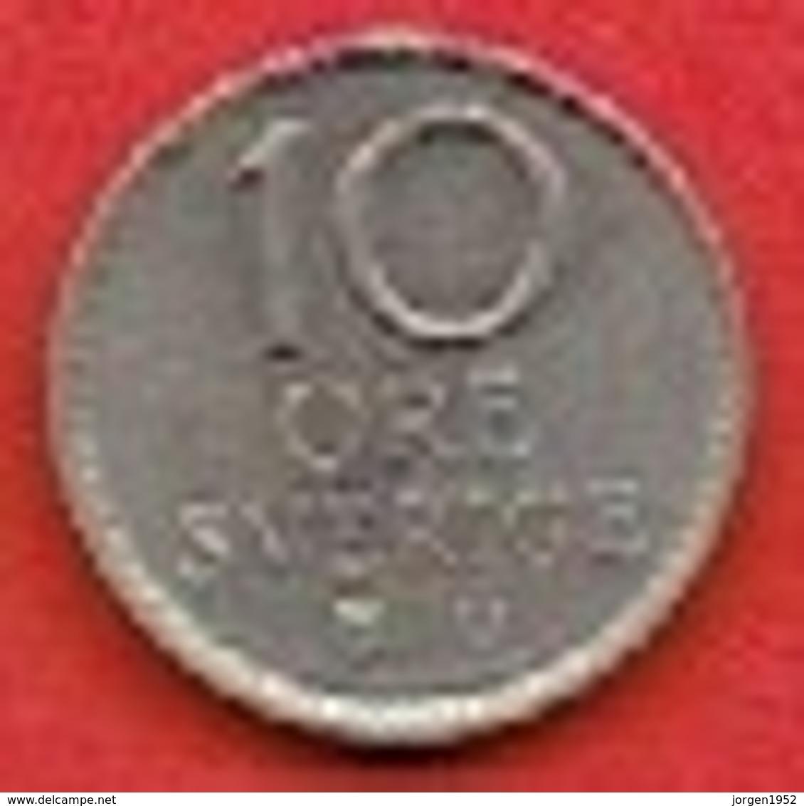 SWEDEN  # 10 ØRE FROM 1963 - Suède