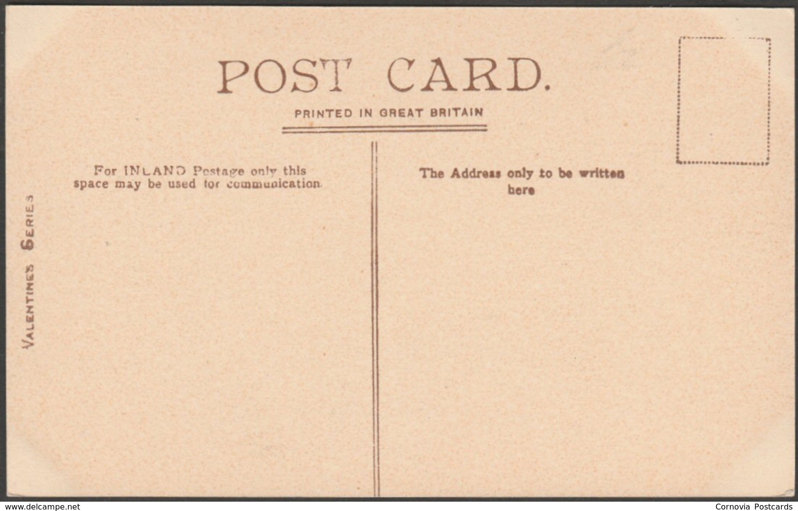 Greenaway Ferry, River Dart, Devon, C.1905-10 - Valentine's Postcard - England