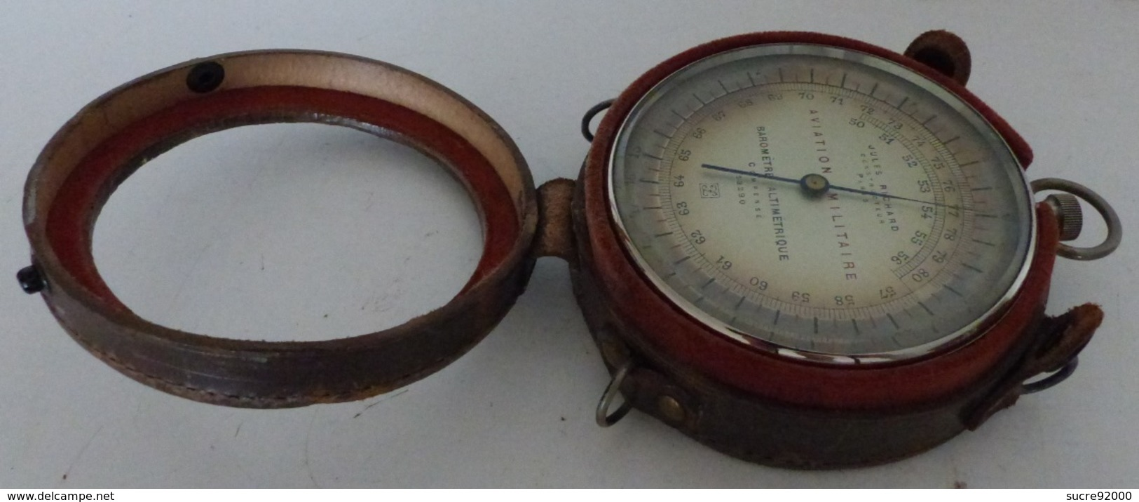 Baromètre Altimétrique Compensé Jules Richard Aviation Militaire WWI - 1914-18