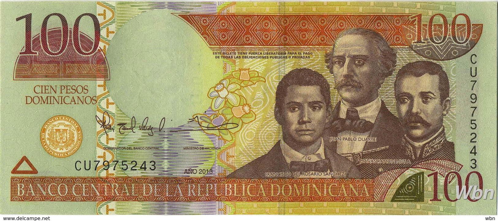 Dominican Republic 100 Pesos (P184) 2013 -UNC- - Dominicaine