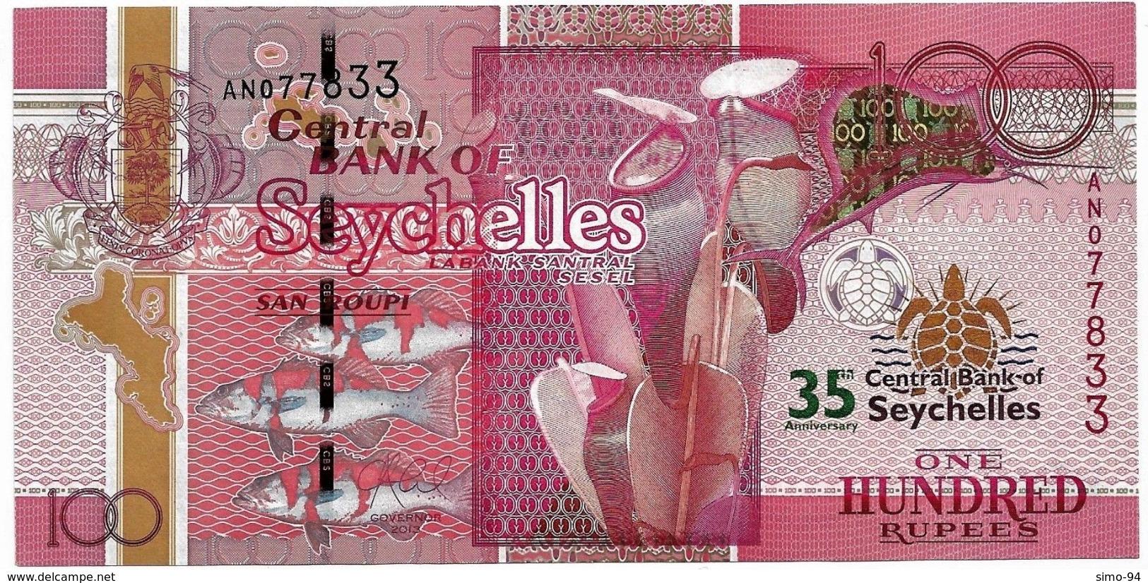 Seychelles P.47 100 Rupees 2013 Unc Commemorative - Seychellen