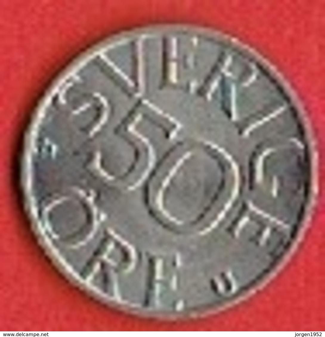 SWEDEN #  50 ØRE FROM 1983 - Suède