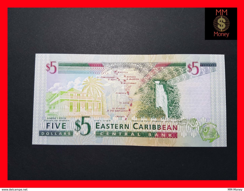 EAST CARIBBEAN 5 Dollars 2000 P. 37 V  St. Vincent   UNC - Caraïbes Orientales