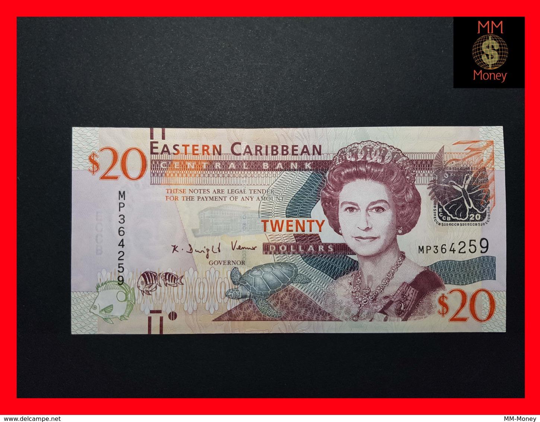 EAST CARIBBEAN 20 Dollars 2012 P. 53   UNC - Caraïbes Orientales