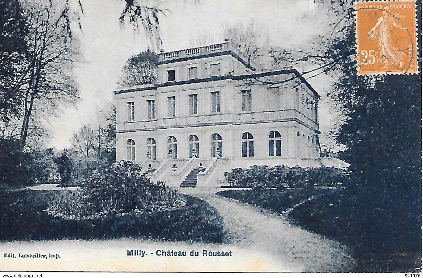 MILLY CHATEAU DU ROUSSET - Kastelen