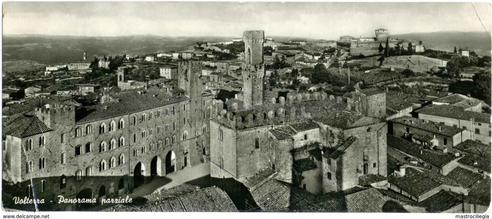 VOLTERRA  PISA  Panorama Parziale  Cartolina Doppia - Pisa