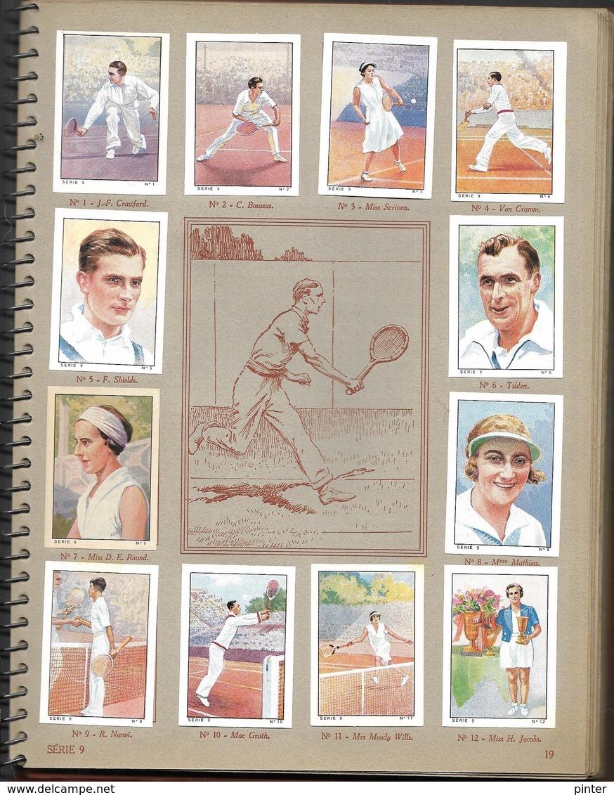Album NESTLE - 1935-1936 - Vignettes Complètes- Explorations/sports - Werbepostkarten